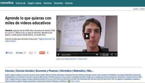 Namathis, un directorio con 8000 vídeos didácticos en español.- | Educación, pedagogía, TIC y mas.- | Scoop.it