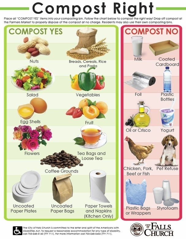 What Kind Of Food Can Be Composted