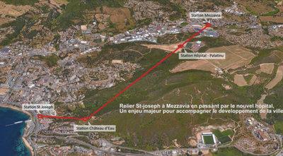 La consultation sur la liaison par câble débutera le 14 mars à Ajaccio | Corse-Matin