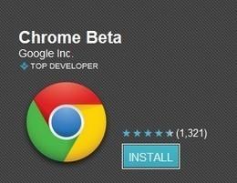Google Chrome est disponible sous Android 4.0+ | SmartPh0nes | Scoop.it