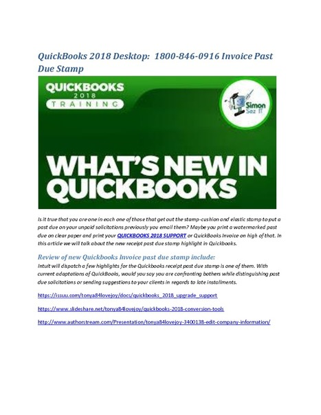 How To Fix QuickBooks Desktop - Quickbooks invoice installments