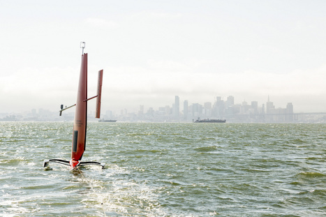 Robot sailboats scour the oceans for data | The Robot Times | Scoop.it