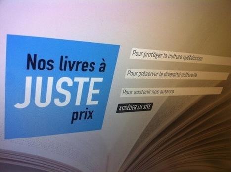 Le débat autour du prix unique du livre se poursuit au Québec   Bibliothèque et Techno   Scoop.it