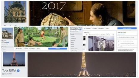 9 institutions françaises dans le Top 50 des musées mondiaux sur Facebook et Twitter (janvier 2017) | Voyages et Tourisme | Scoop.it