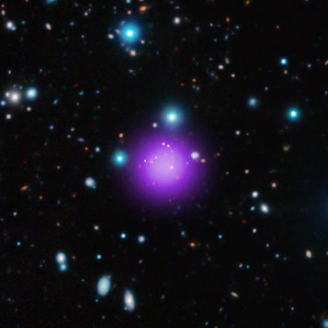 Ανακαλύφθηκαν ένα νέο γαλαξιακό σμήνος και τρία νέα ουράνια σώματα | SCIENCE NEWS | Scoop.it