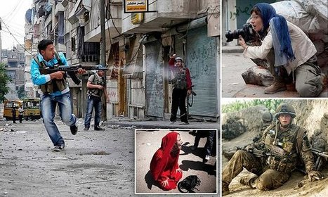 Incredible pictures taken by growing army of female war photographers   photography art   Scoop.it