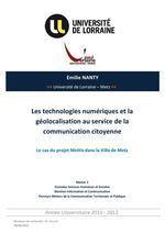 Les technologies numériques et la géolocalisation au service de la communication citoyenne | Map@Print | Scoop.it