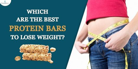 how does protein bars help lose weight