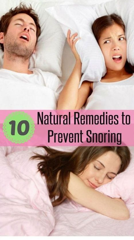 Top 10 Natural Remedies to Prevent Snoring | Health & Digital Tech Magazine - 2017 | Scoop.it