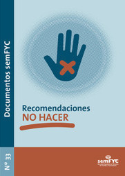 Recomendaciones «NO HACER» | Doctorado Ciencias Salud | Scoop.it