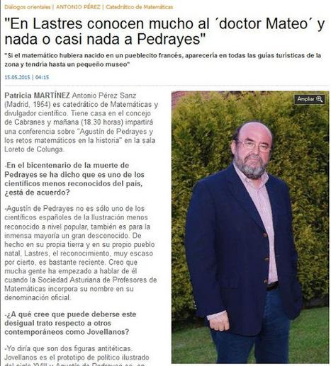 Matemáticas. Antonio Pérez Sanz   Matemàtiques - Secundària   Scoop.it