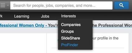 4 LinkedIn Tips for Better Prospecting | Linkedin for Business Marketing | Scoop.it