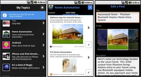 Mobile Curation is now Easier than Ever with Scoop.it for Android: adds Scoop.it to your browser's native sharing menu | learning stuff | Scoop.it