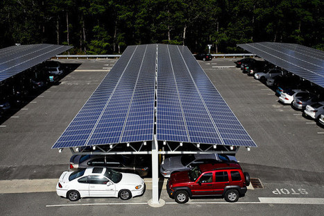 Solar batteries-Solar parking lots can charge electric vehicles | Knowridge Science Report | All About Cars. | Scoop.it