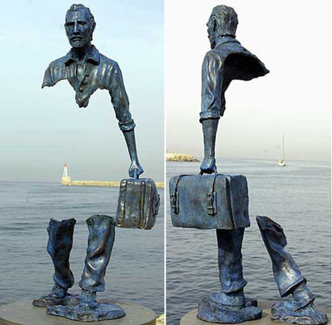 France: Travellers ~Bronze Statues in Search of Themselves | Beyond London Life | Scoop.it