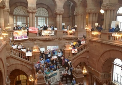 Hundreds Rally Telling Gov. Cuomo: 'Not One Fracking Well' | EcoWatch | Scoop.it