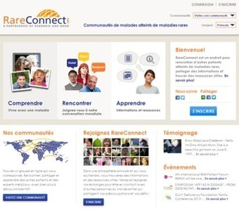 Rare Connect : communauté de patients atteints de maladies rares | News marketing santé numerique | Scoop.it