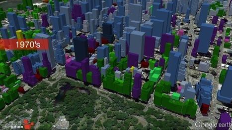 Cube Cities blog: Midtown Manhattan Growth Animation (1850-2015) | Blunnie's Geo Portfolio | Scoop.it