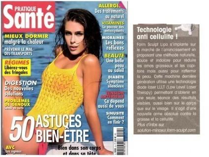 Santé Pratique, Juin 14   Beauty Push, bureau de presse   Scoop.it