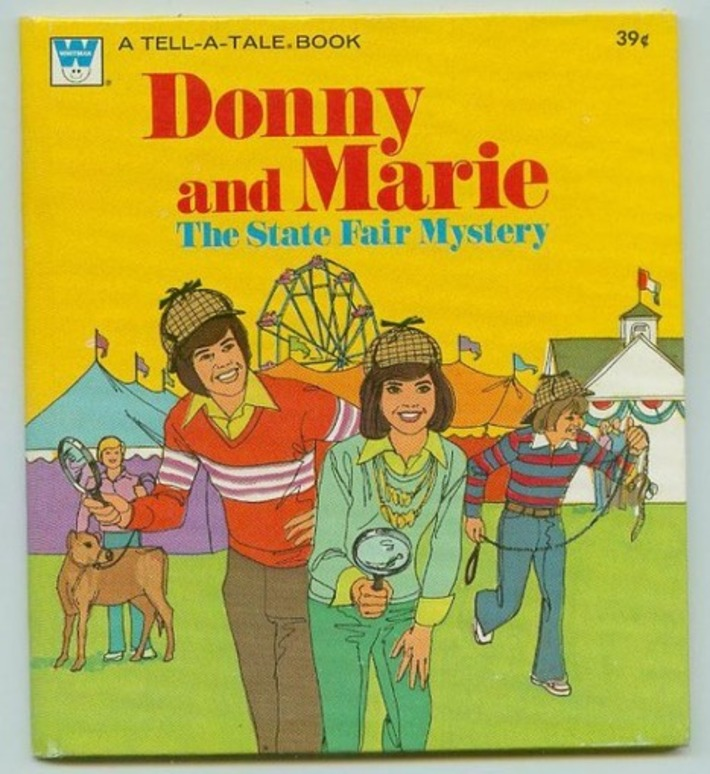 Vintage NOS Donny & Marie Collectibles | Kitsch | Scoop.it