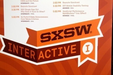 Not at SXSW? Bite into these tech-focused presentations instead | startups, crowdfunding, startup entrepreneurs | Scoop.it