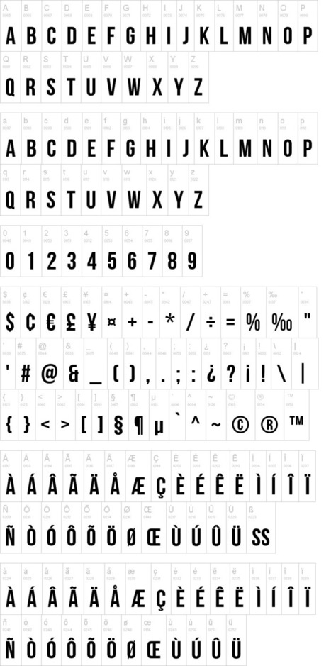 Bebas Neue Font | dafont.com | Font Lust & Graphic Desires | Scoop.it