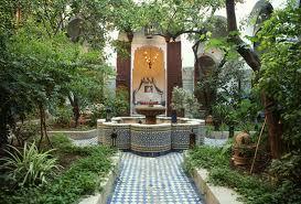Le Gout Des Jardins Arabes Tourisme De - Jardin-arabe