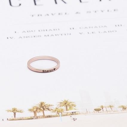 e360736ef gixminimalist - Graceful Rings Gix Minimalist Custom Name Necklaces Script  Gold Letter Writing Jewelry