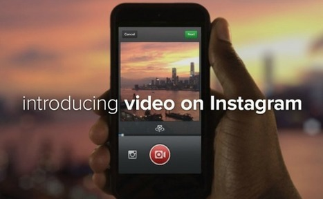 Instagram déploie un concurrent de Vine pour ses 130 millions d'utilisateurs | la communication du futur | Scoop.it