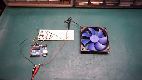 Arduino Temperature Controlled Fan Speed #ArduinoMonday | Raspberry Pi | Scoop.it