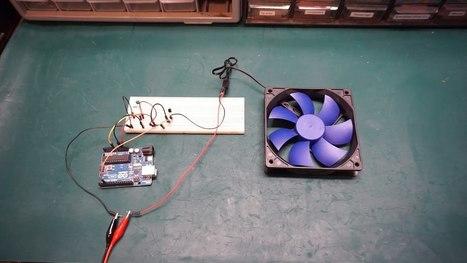 Arduino Temperature Controlled Fan Speed #ArduinoMonday | Raspberry Pi | Scoop.it