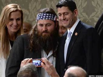 PHOTOS: Republicans Lined Up at SOTU for Duck Dynasty Photo Op | Daily Crew | Scoop.it