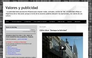 Valores y publicidad | Bibliotecas Escolares do S. XXI | Scoop.it