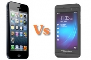 BlackBerry 10 Vs iPhone 5 : le match | Actualité high-tech et techno | Scoop.it