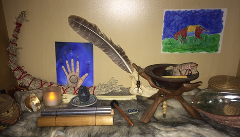 Creating a Sacred Dream Altar | Archetypes-Dreamwork-Spirituality | Scoop.it