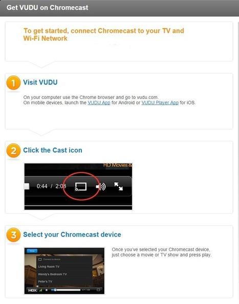 How To Set Chromecast Button On VUDU? | Chromec