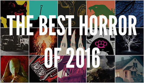 The Best Horror Books of 2016 | Gothic Literature | Scoop.it