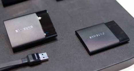 SSD Samsung portable T1, 1 To dans le creux de la main | Technologie Au Quotidien | Scoop.it