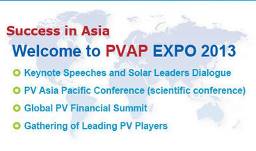 APVIA (2013) PV ASIA PACIFIC EXPO | EVENTS, ASIA - CARMEN ADELL | Scoop.it