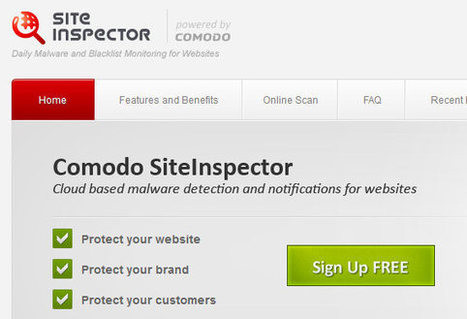 Site Inspector scanne votre site à la recherche de malwares | Je, tu, il... nous ! | Scoop.it