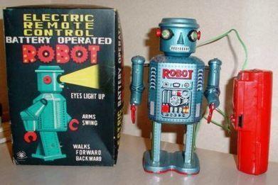 Buy & Collect Vintage Robot Toys for Sale   1950s 1960s 1970s 1980s Tin, Die cast, and Plastic Japanese Toy Collectibles   Vintage, Robots, Photos, Pub, Années 50   Scoop.it