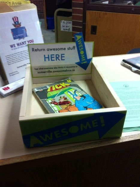 """Somerville Public Library Partners With Harvard Library Lab, Becomes First Public Library to Make """"Awesome Box"""" Available 