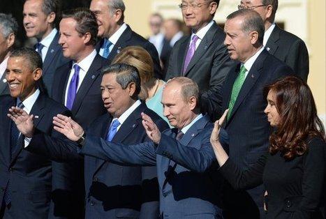 """The St Petersburg G20 blues   """"GE""""   Global Economy - Küresel Ekonomi   Scoop.it"""