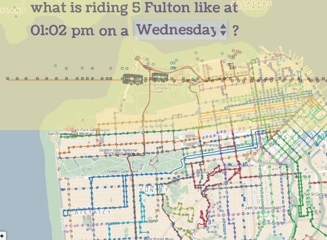 San Francisco | Dots on the Bus | Digital Technology - Research | Scoop.it