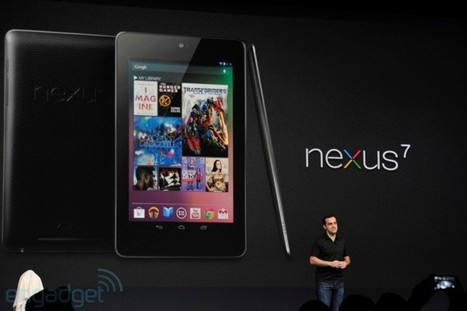 Google makes the Nexus 7 tablet official: Android 4.1 Jelly Bean and a $199 price (video) | Google and others | Scoop.it