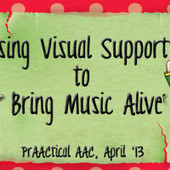 Using Visual Supports to Bring Music Alive with Marlene Sotelo | AAC: Augmentative and Alternative Communication | Scoop.it