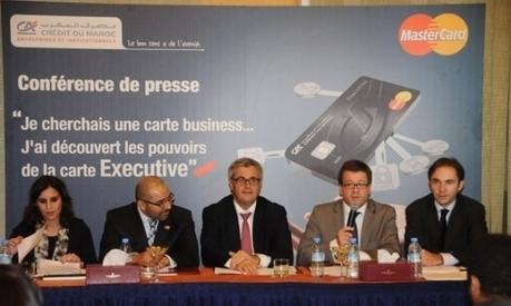 Services bancaires : Le Crédit du Maroc lance une carte «Executive ... - LE MATiN | Design bancaire | Scoop.it