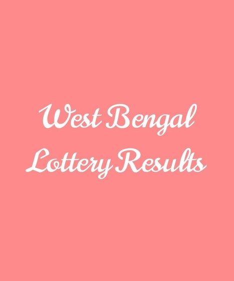 West Bengal State Lottery Result today | Bangas