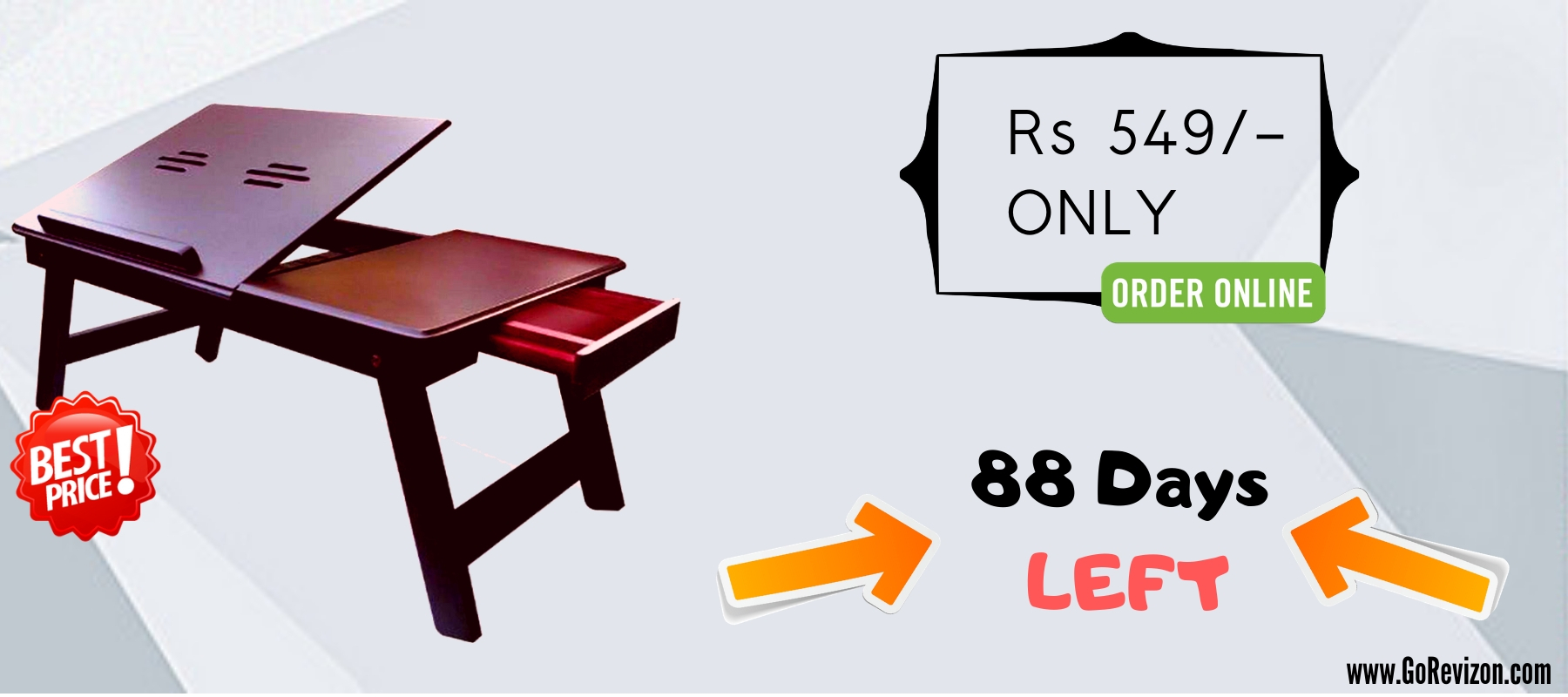 d2999addfe9 The perfect deal   Catch the lowest prices on Portable Laptop Table Online