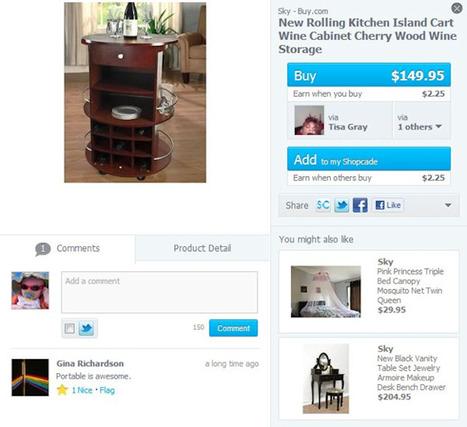 Shopcade: Pinterest for Ecommerce? | SIM Partners - Social Media | Scoop.it
